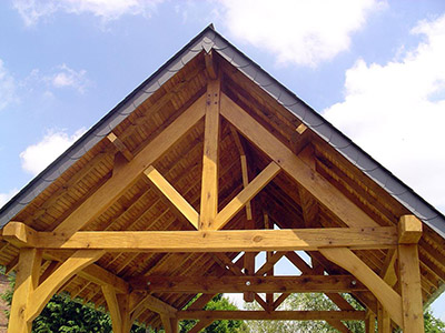 Durand fils couverture charpente bois extension de for Charpente en kit prix