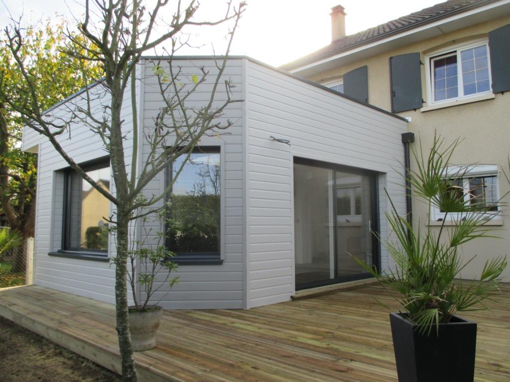Durand fils couverture charpente bois extension de for Agrandissement maison 76