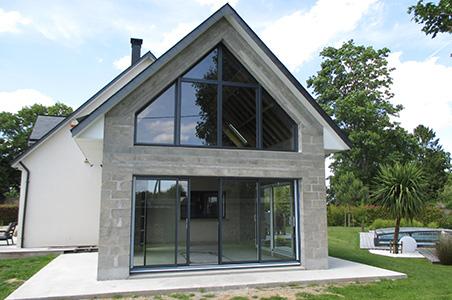 Travaux d 39 agrandissement de maison en bois rouen seine for Entreprise agrandissement maison 87